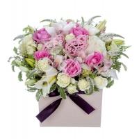 Коробка с цветами 0046