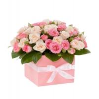 Коробка с цвветами 0021