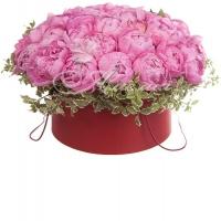 Коробка с цветами 0054
