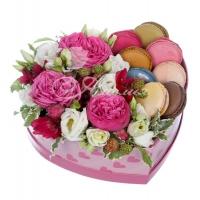 Коробка с цветами 0050