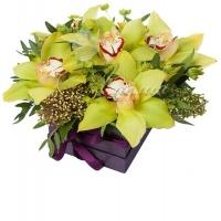 Коробка с цветами 0033