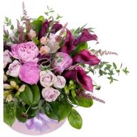 Коробка с цветами 0055