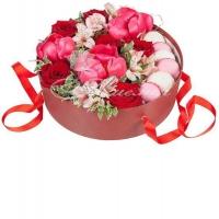 Коробка с цветами 0057