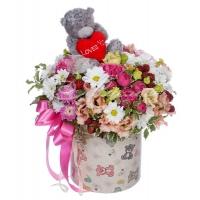 Коробка с цветами 0061