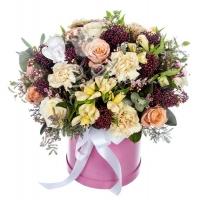 Коробка с цветами 0052