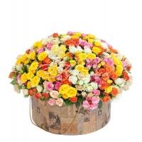 Коробка с цветами 0042